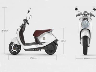 E-Moped Diamond Maße