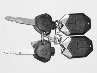 E-Moped Diamond Schlüssel