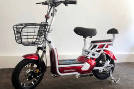 E-Scooter Sunra rot neues Modell 2018