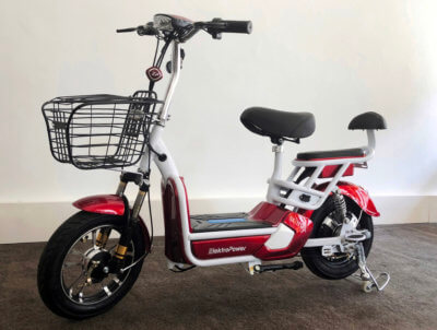 E-Scooter Sunra rot neues Modell