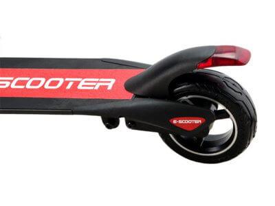 Elektro Roller Micro hinten