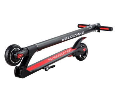 Elektro Roller Micro zusammengeklappt