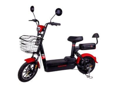Elektro Roller Sunra Elite mit Straßenzulassung rot
