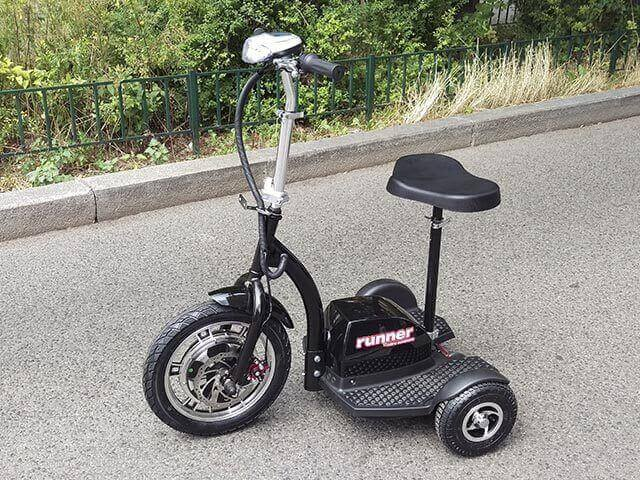 elektro scooter dreirad runner 500w 800w escooter shop. Black Bedroom Furniture Sets. Home Design Ideas