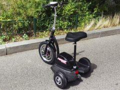 Elektro Scooter Dreirad Nitro Runner