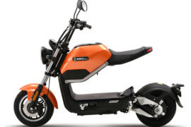 Elektro Scooter Miku Max orange