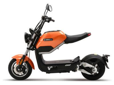Elektro Scooter Miku Max orange