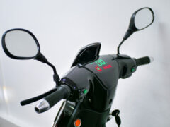 Elektro-Scooter Elektropower Zeron schwarz Lenker