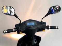 E-Scooter Elektropower Volt blau Lenker