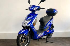 E-Scooter Elektropower Volt blau neues Modell 2018