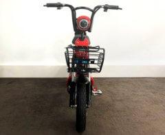 Elektro Roller Sunra Sport rot vorne