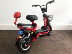 Elektro Roller Sunra Sport rot hinten