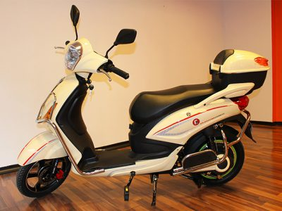 Elektro-Scooter Power beige