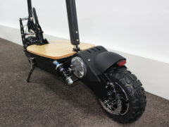 e scooter cruiser 2000W hinterrad