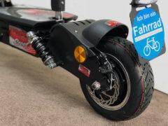 e scooter cruiser 600 bürstenloser radnabenmotor
