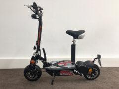 e scooter cruiser 600 bürstenloser motor schwarz