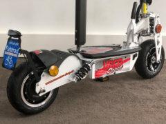 e scooter cruiser 600 weiss bürstenloser radnabenmotor