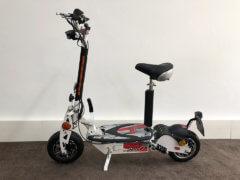 e scooter cruiser 600 weiss mit bürstenlosem motor