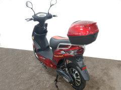 e scooter storm rot hinten