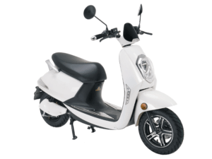 e-moped electricity weiss vorne