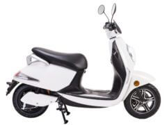 e-moped electricity weiss