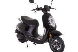Elektro-Moped electricity schwarz