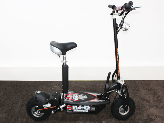 elektro scooter nitro 1000w 36v zusammenklappbar. Black Bedroom Furniture Sets. Home Design Ideas