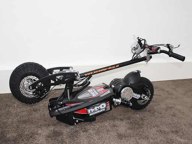 elektro scooter nitro 1000w 36v zusammenklappbar. Black Bedroom Furniture Sets. Home Design Ideas