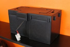 Akkubox für Elektro Roller E-Velo