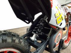 kinder elektro motorrad federung