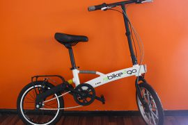 Klappbares Elektro-Fahrrad E-bike 2go
