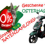 Elektro Scooter 0% Ratenzahlung