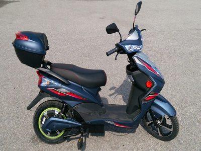 Storm E-Scooter dunkel-blau